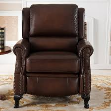 Amax Leather Furniture High Quality Top Grain Leather At Amax Princeton Leather Manual Recliner U0026 Reviews Wayfair