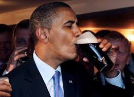 Obama Beer Meme - president obama in ireland stops off for a pint of guinness