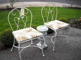 Antique Metal Patio Chairs About Metal Patio Furniture The Kienandsweet Furnitures