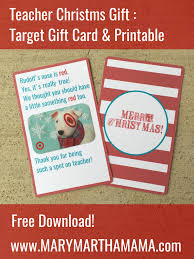 teacher christmas gift target gift card printable u2013 mary martha mama