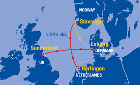 North Sea Map Sailing The North Sea In 2018 U2013 Tall Ships Races