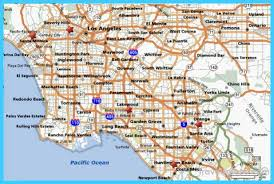 map of inglewood california map of los angeles california travelsmaps