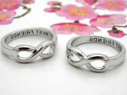 mothers infinity ring kbza infinity ring best friend ring ring couples ring