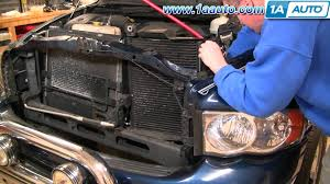 Dodge Ram 1500 Dash Fuse Box Removal How To Install Repair Replace Part 1 Ac Condensor Cooling Fan