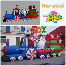 inflatable christmas train inflatable christmas train suppliers