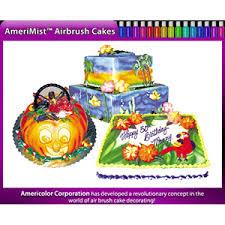 americolor amerimist student kit air brush food color 12 pack kit