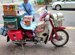 the honda super cub