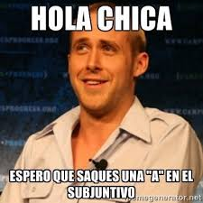 Spanish Teacher Memes - using memes in spanish class memes subjunctive pinterest