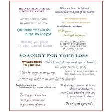 collection of messages to write in a sympathy card when designing