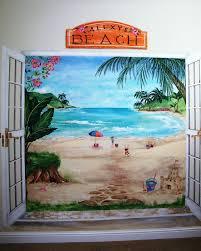 outstanding ocean wall mural stencil ocean murals wall decor wall trendy ocean fish wall murals childrens murals beach painted large ocean wall murals full size