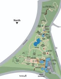 Map Of Iowa State Admissions U0026 Directions Reiman Gardens