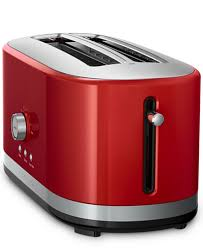 Red Toasters For Sale Kitchenaid Kmt4116 4 Slice Long Slot Toaster Electrics Kitchen