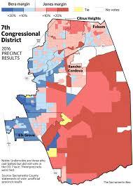 Midterm Election Map by How Did Ami Bera Defeat Scott Jones The Sacramento Bee