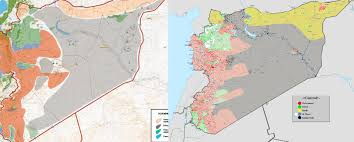 Syria Map Of Control by Russian Military Officials Prove Russia Will Not Adhere To The