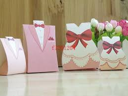 wholesale gift wrap rolls bigger size pink and groom candy chocolate box for wedding