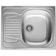 Fitmykitchen Pyramis Sparta X D Single Bowl Compact Sink - Compact kitchen sinks stainless steel