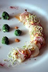 cuisiner le corail de jacques japonaise noix de jacques carpaccio et radis
