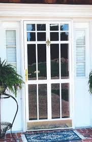 glass security doors security storm doors classic ironworks