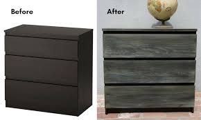 Painting Malm Dresser Chalk Paint Vs Ikea Furniture Interiors To Inspire