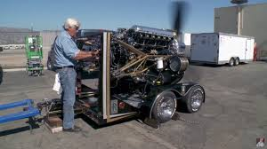 rolls royce merlin jay leno talks about and runs a merlin v12 engineswapdepot com