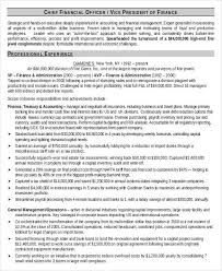Financial Resume Example by 8 Finance Resume Free U0026 Premium Templates