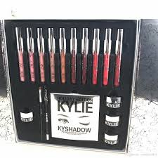 2017 newest kylie holiday big box makeup set lipstick eyeliner