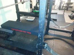 Monster Bench Rogue Monster Utility Bench With Thompson Fat Pad Modified To 17 5