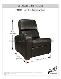 home theater recliners home theater seating dimensions 6 best home theater systems