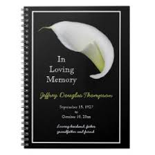 funeral sign in book floral funeral sign in book gifts on zazzle