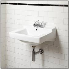 installing wall mounted bathroom sink faucet sink and faucets