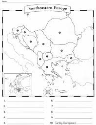 Blank Map Of Europe by Europe Blank Map Quiz Europe Blank Map Quiz Spainforum Me