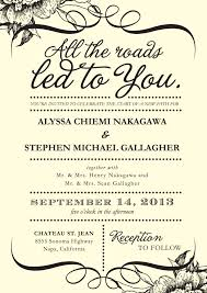 wedding invitation sayings 4 words that could simplify your wedding invitations huffpost