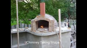 building a authentic italian wood burning pizza oven youtube