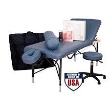 oakworks portable massage table oakworks alliance aluminum massage table packages