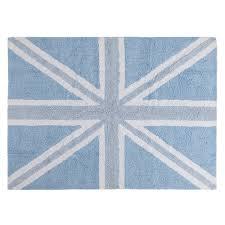 Area Rugs Uk by Washable Rug England Falg Baby Blue Alfombra Lavable Bandera