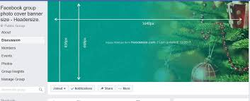 cover photo template facebook facebook group cover dimensions headersize