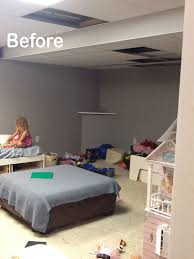 How To Install Beadboard On Ceiling - diy beadboard ceiling to replace a basement drop ceiling