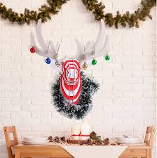 Christmas Decorations Reindeer Head by Aliexpress Com Buy Christmas Decoration Reindeer Head Animal