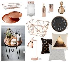 Peach Bathroom Accessories by Rose Gold Home Decor Sydney Rose And Gold