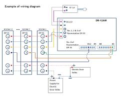 commax 12 apartment audio intercom kit dr 12am x1 dp ss x12 rf