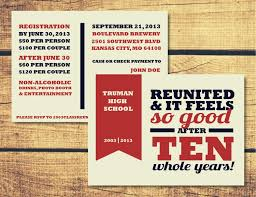 high school reunion invitations high school reunion invitation template with black and