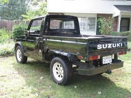 suzuki pickup truck purchase used 1982 suzuki sj410k samurai pickup truck rare in