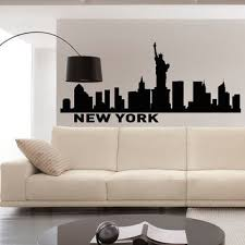 New York City Home Decor Best New York City Skyline Wall Decal Products On Wanelo