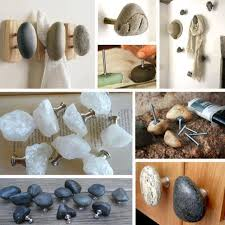 Make Your Own Cabinet Knobs by How To Make Unique Rock Cabinet Knobs For Kitchen Remodeling Step