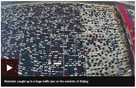 thanksgiving traffic jam in los angeles is most epic