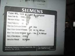 wls2a316 siemens wls2a316 wls2a316 circuit breaker wl indoor