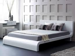 Platform Bed White Best Choices Modern Platform Bedhome Design Styling