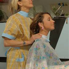 fem boys at the hair salon 43 best hair capes images on pinterest hair styles aprons and