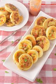veggie pinwheels party appetizer party potluck recipes finger foods