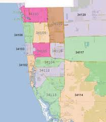 Map Of Los Angeles Zip Codes by Collier County Zip Code Map Zip Code Map